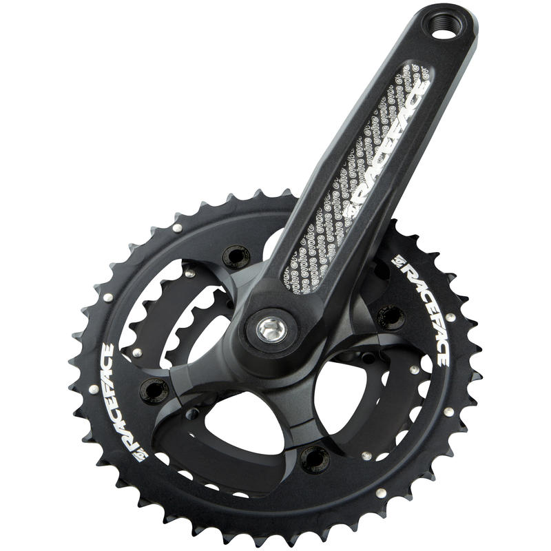 Evolve Crank Set (24/32/42T, 10 Speed) Black