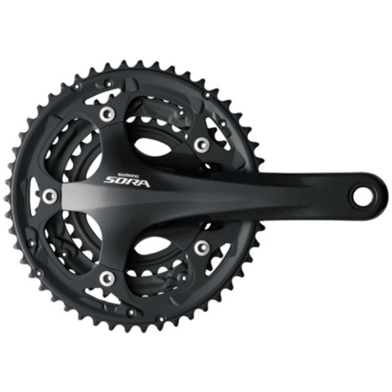 Pédalier Sora FC-3503 (30/39/50) 9 vitesses Noir