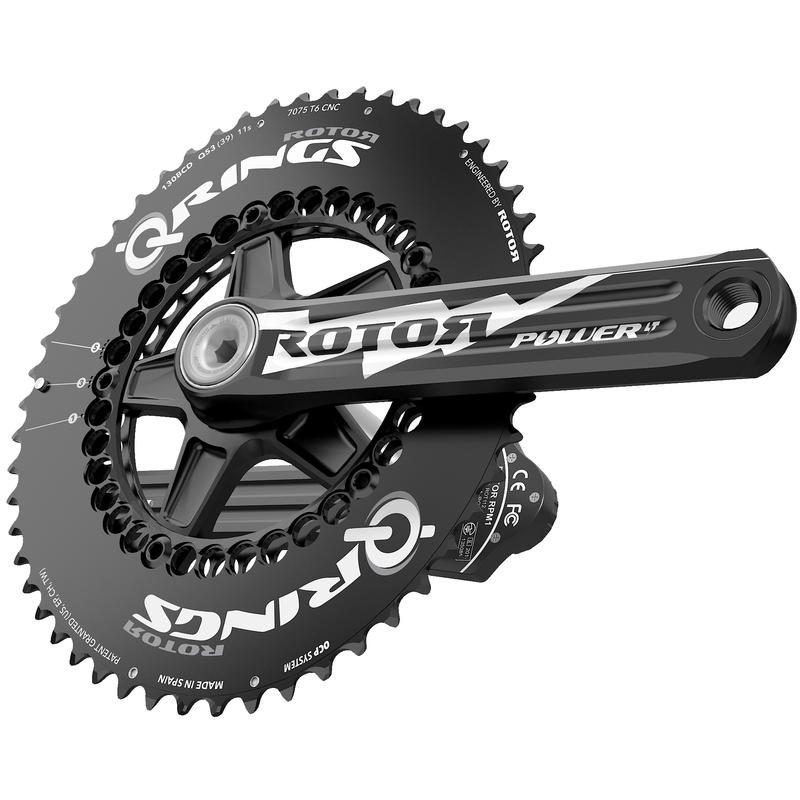 3D+ Power LT RD Crankset (130x5) Black/Black
