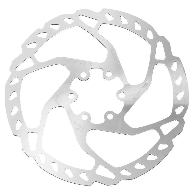 Disque de frein de vélo SM-RT66 à 6 vis Argent