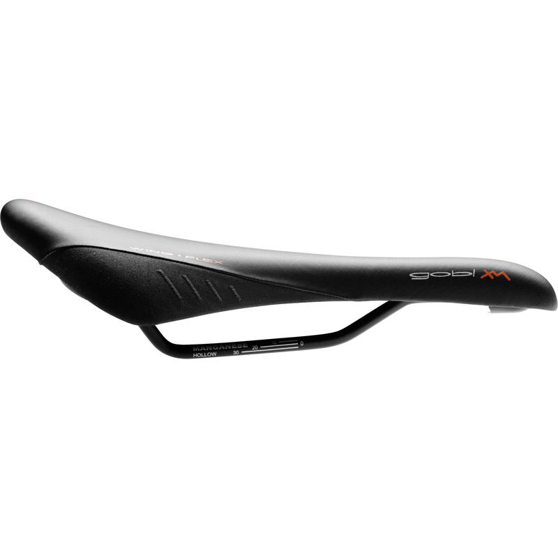 Gobi XM Saddle (Mn Rails) Black Cordura