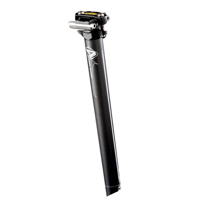 Tige de selle Cirrus Pro en carbone de 350 mm Noir/Blanc