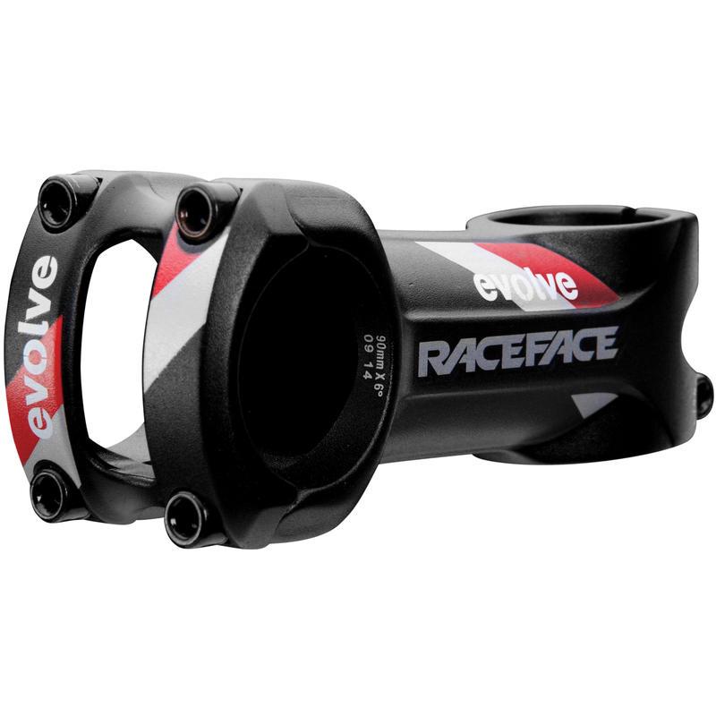 Potence de vélo Evolve Noir/Rouge