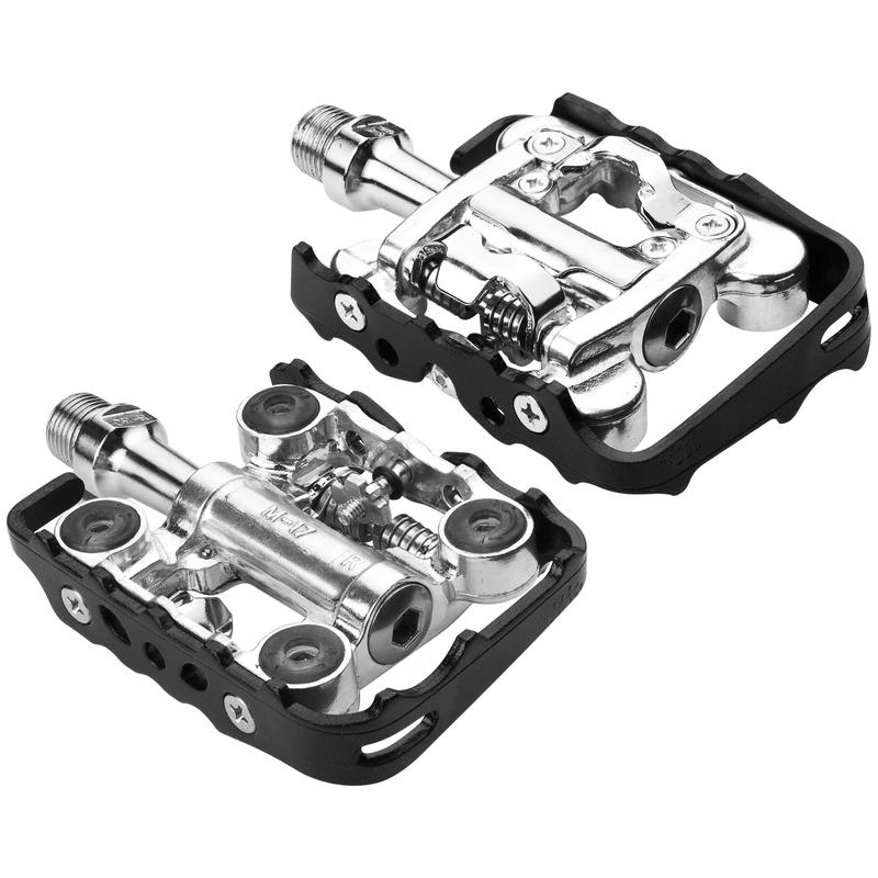 WPD-M17C Clipless Pedals Black/Silver