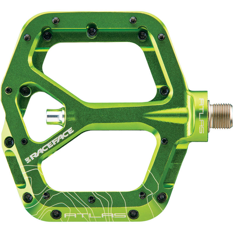 Atlas Pedal Green