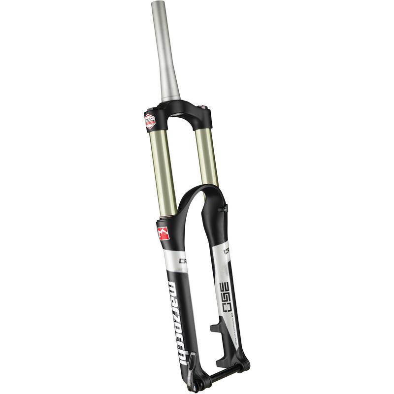 """350 CR 27.5"""" Suspension Fork Black"""