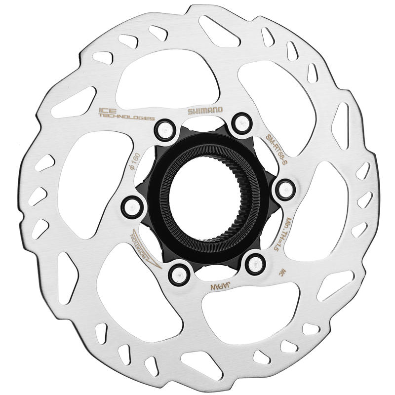 SLX SM-RT68 Centre Lock Disc Brake Rotor Silver