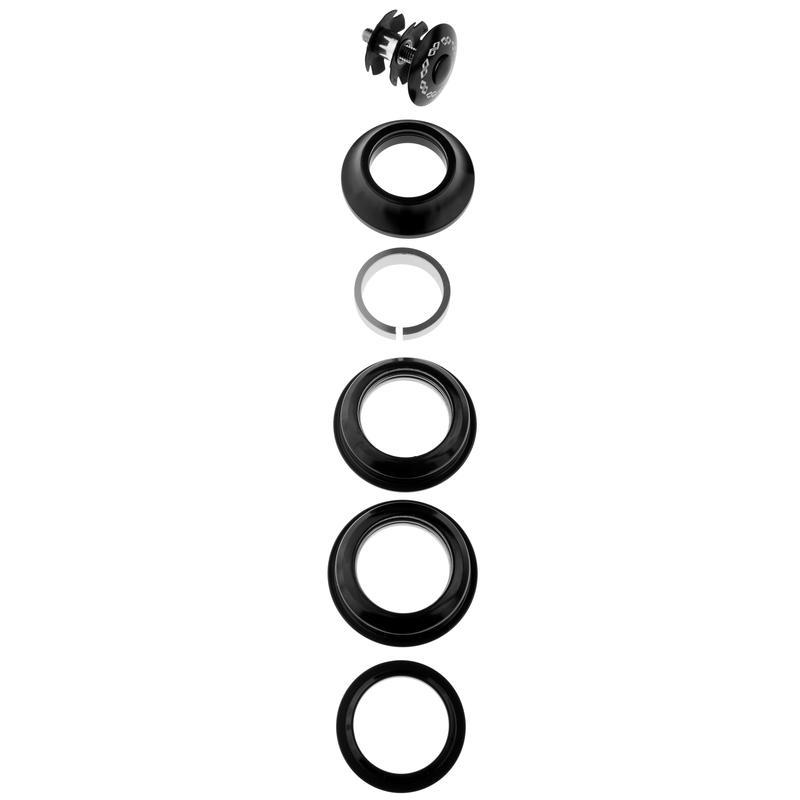 "Standard Headset 1-1/8"" Black"