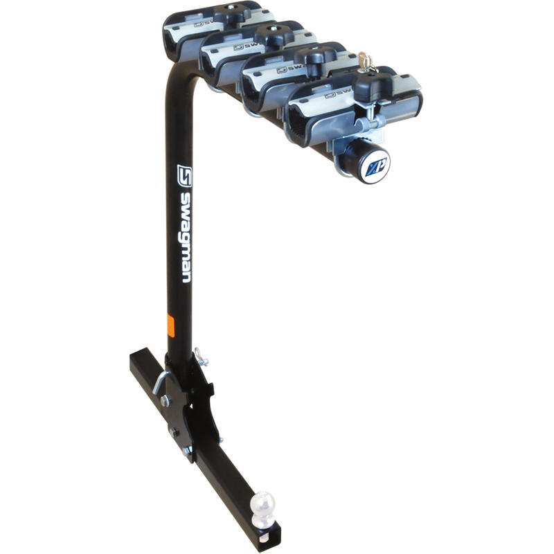 "XP4 BikeFldDwn Towing Hitch Rack 2"" Receiver"