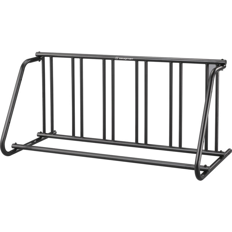 City Series Six S Bike Rack Black