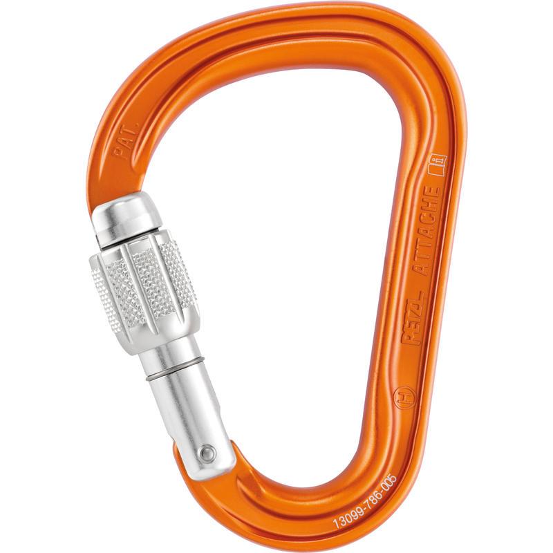 Attache Screw-Lock Carabiner