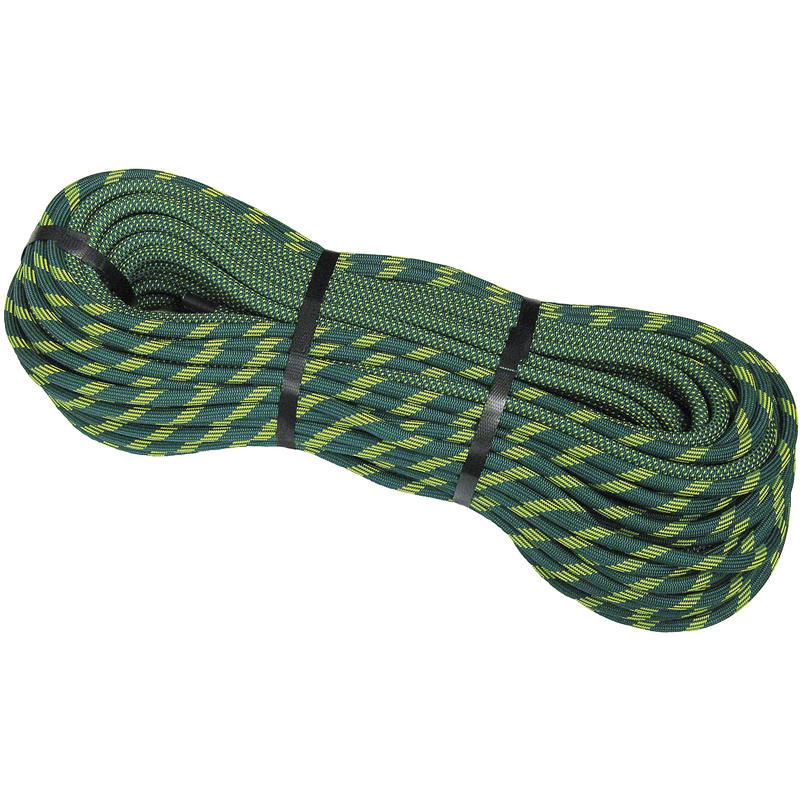 Glider 10.2mm Dry Rope Green/Yellow