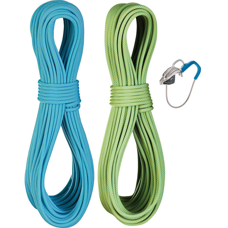 Flycatcher Pro Dry 6.9mm Rope Set Oasis/Icemint
