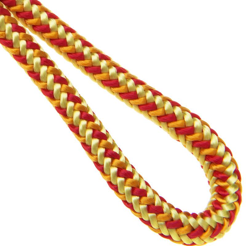 Corde statique en nylon de 5 mm Jaune
