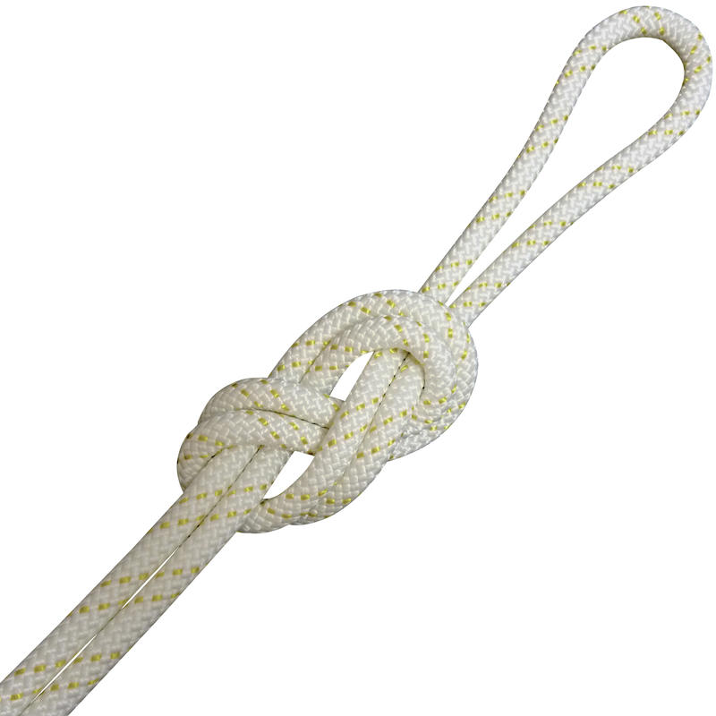 10.5mm KMIII Nylon Static Rope White