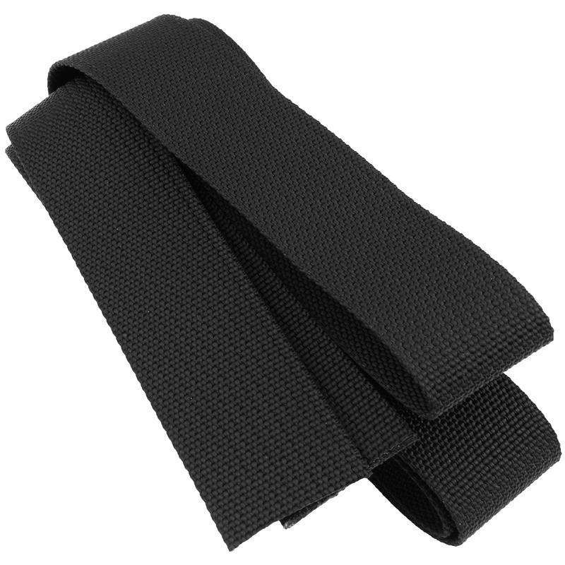 Sangle accessoire en nylon de 24 mm Noir