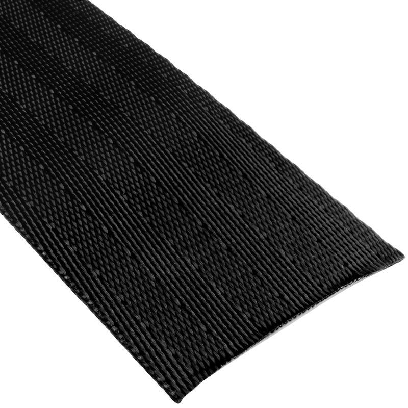 Sangle ceinture de sécurité en nylon de 48 mm Noir