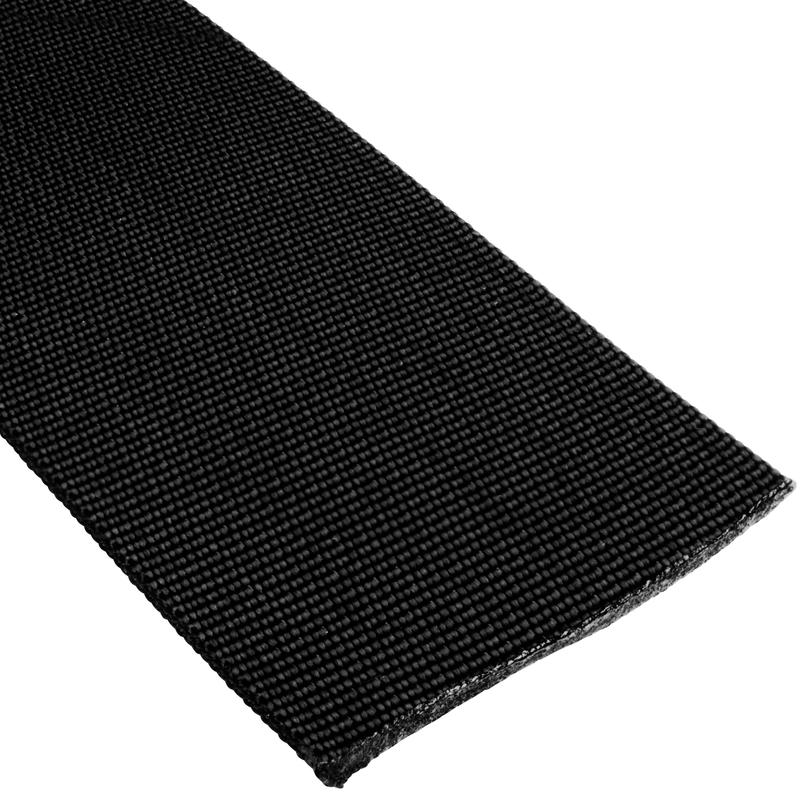 "2""(48mm) Nylon Flat Accessory Webbing Black"