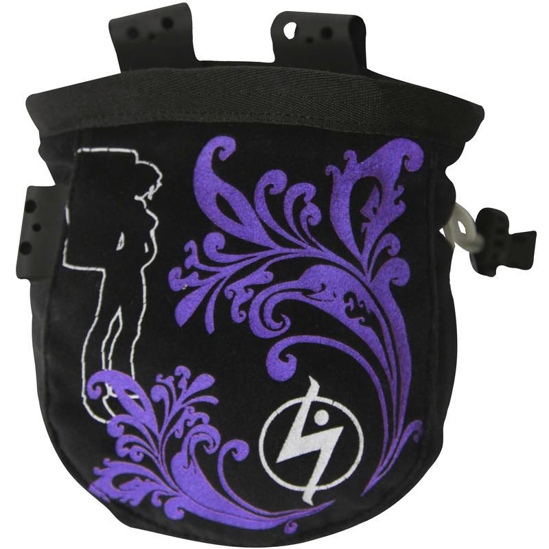 Wide Mouth Jane Chalk Bag Purple