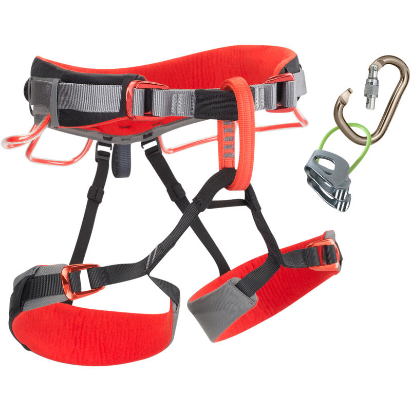 Momentum DS Harness Combo Kit Steel/Lava