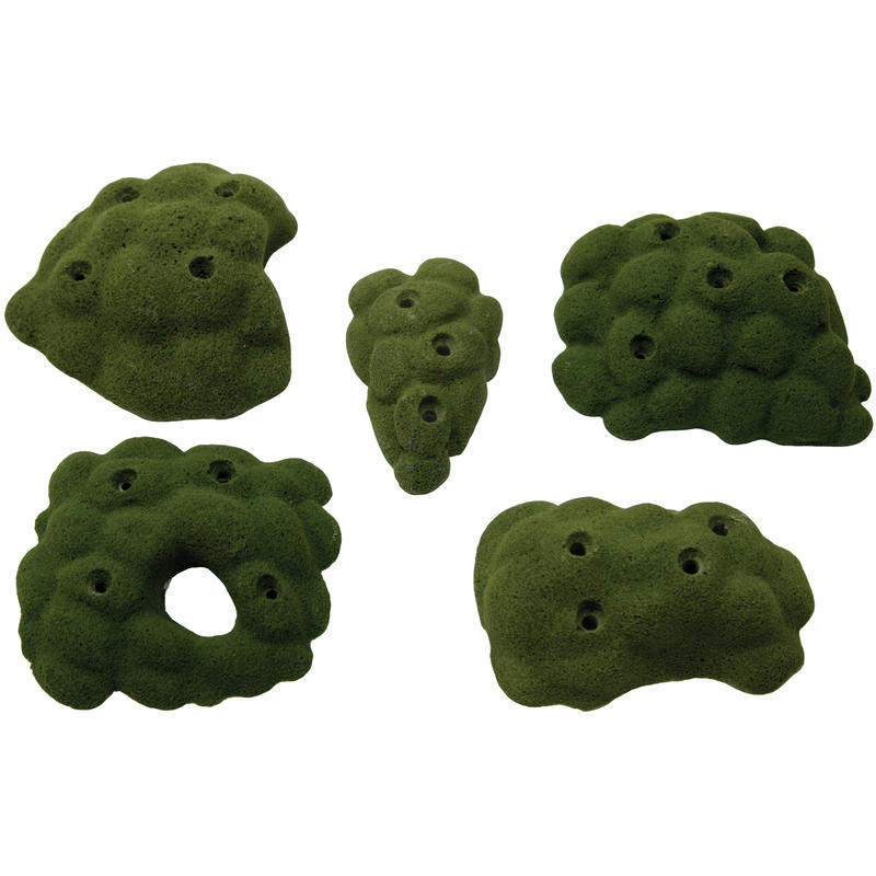 Screw On Modular Holds 5 Pack Assorted