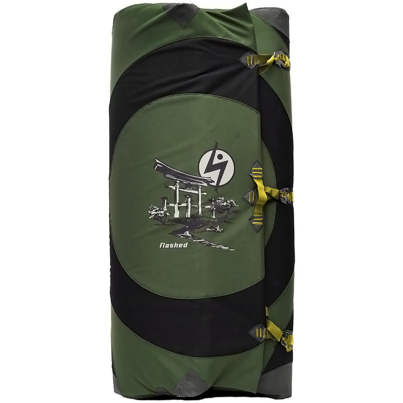 Temple Crash Pad Green/Yellow