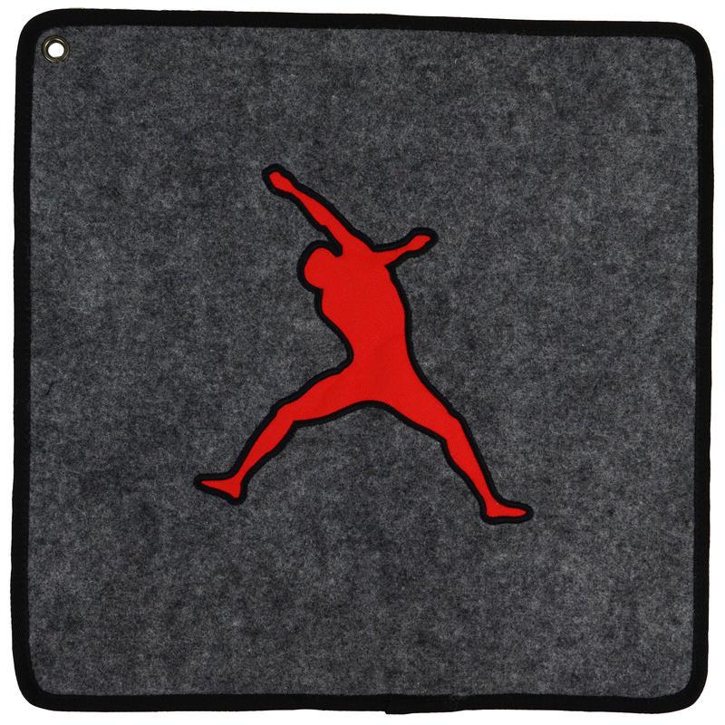 Tapis pour chaussons Gris/Rouge