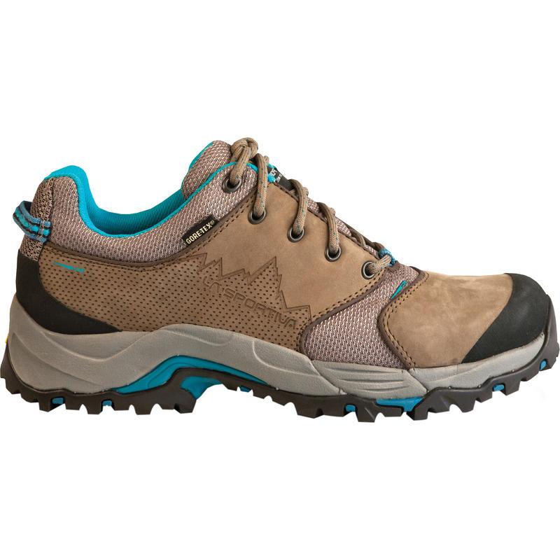 Chaussures de courte randonnée FC ECO 2.0 GTX Brun/Bleu mer