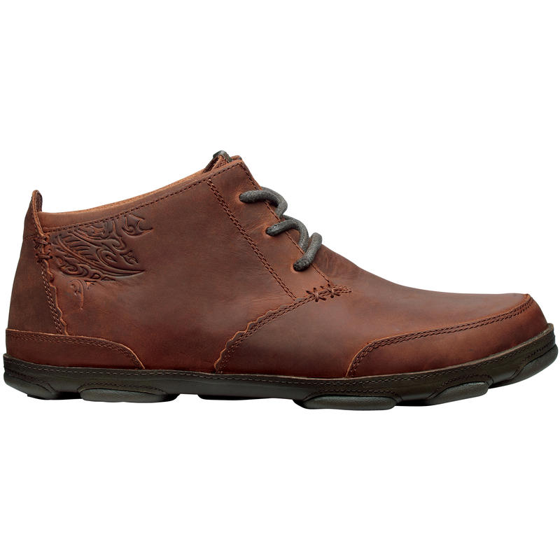 Kamuela Shoes Red Earth/Seal Brown
