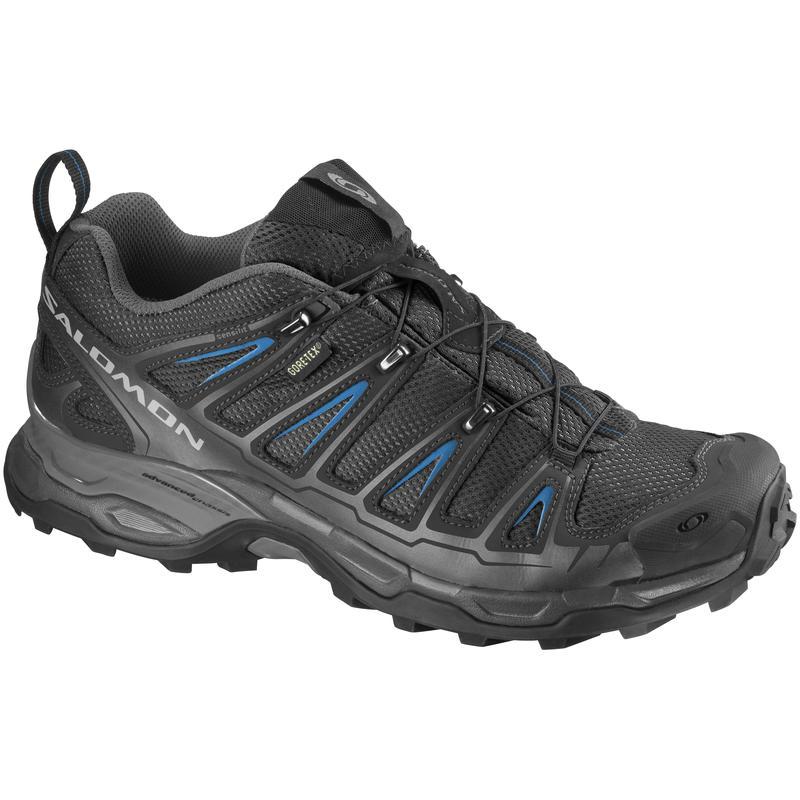 Chaussures X Ultra GTX Noir/Bleu vif