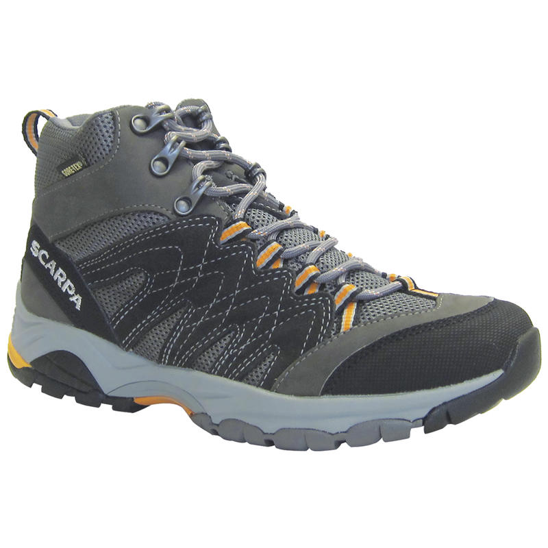 Moraine Mid GTX Light Trail Shoes Anthracite/Smoke