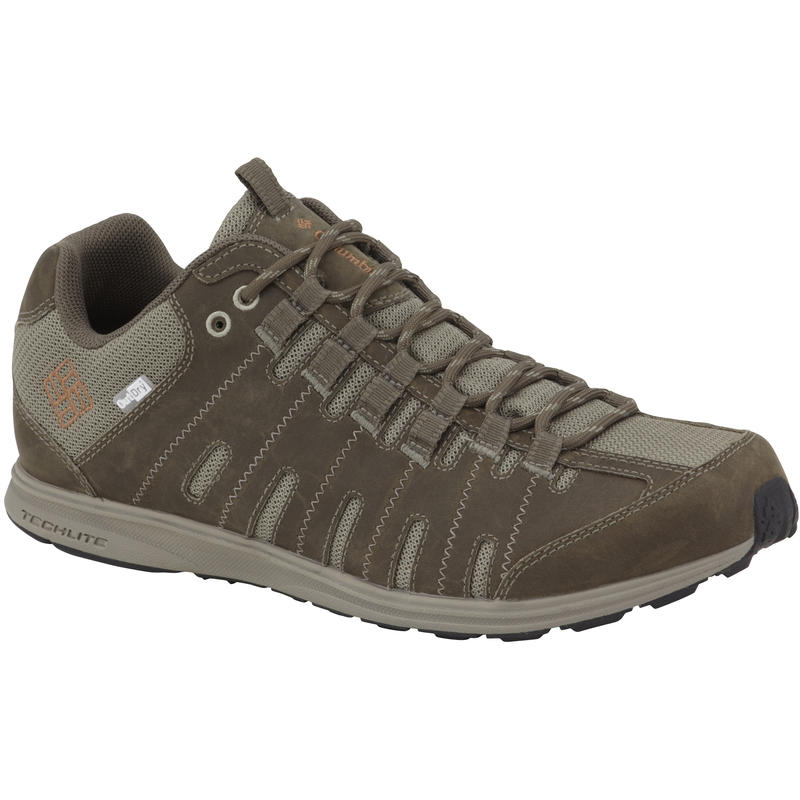 Master Fly Leather OutDry Light Trail Shoes Mud/Cayenne