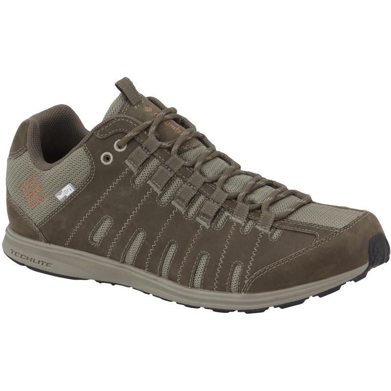 Chaussures de randonnée Master Fly OutDry en cuir Boue/Cayenne