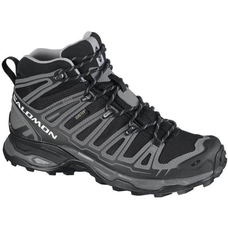 X-Ultra Mid GTX Light Trail Shoes Black/Autobahn