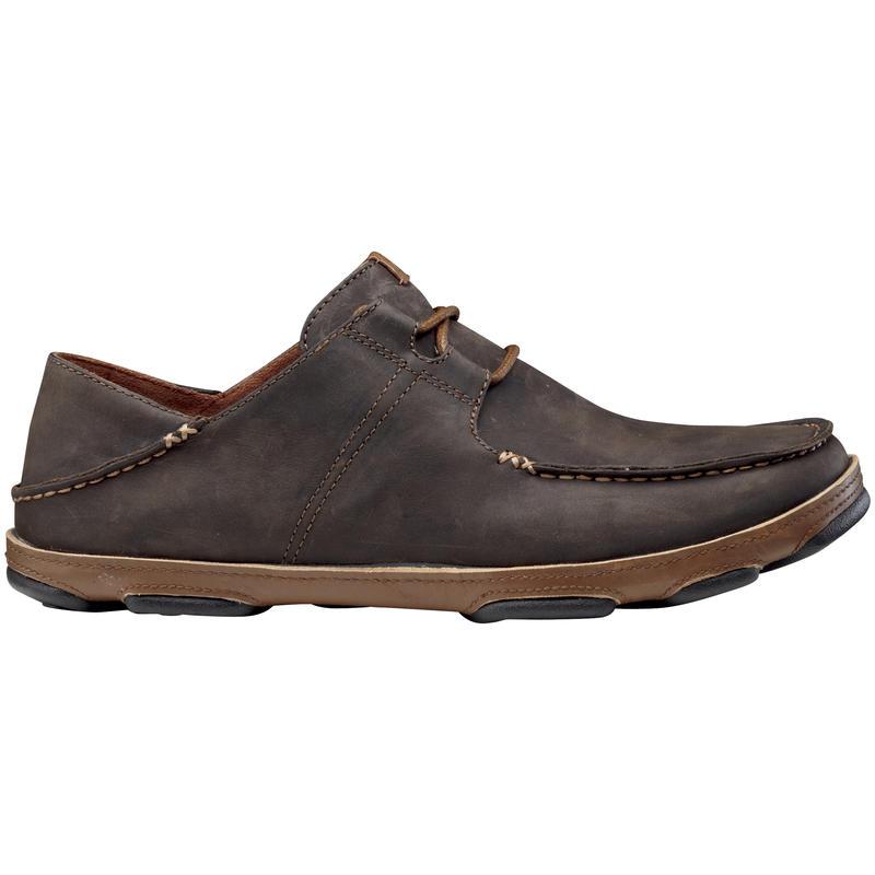 Chaussures Ohana à lacets Bois foncé/Caramel