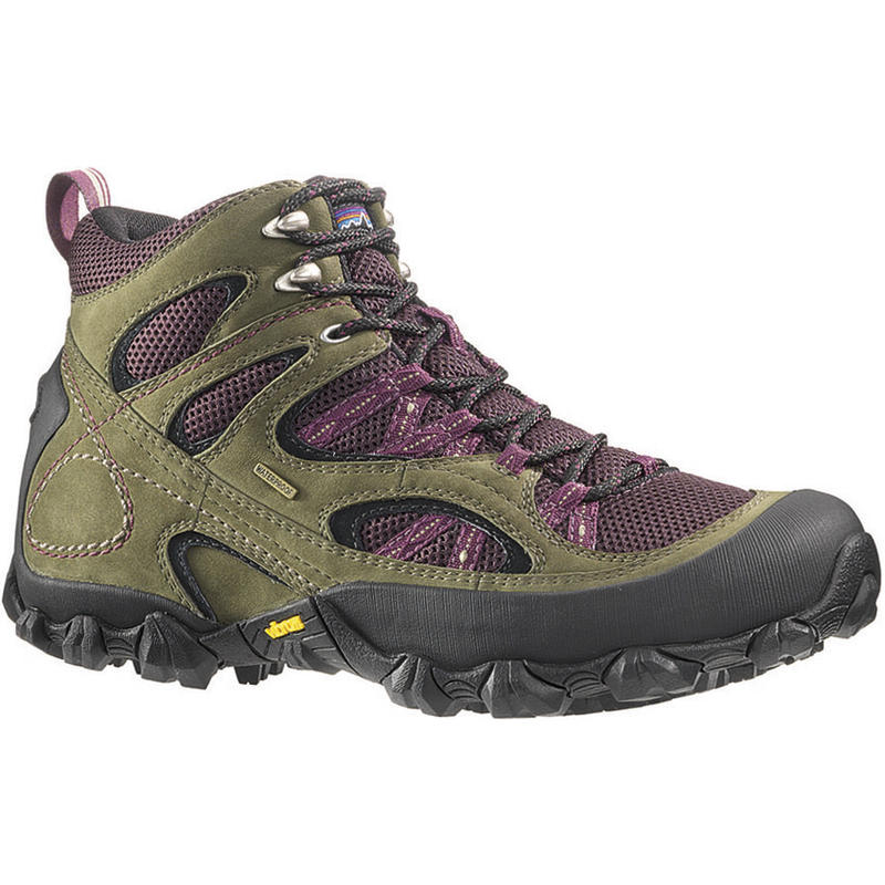 Drifter A/C Mid Waterproof Trail Shoes Hickory/Wine Tasting