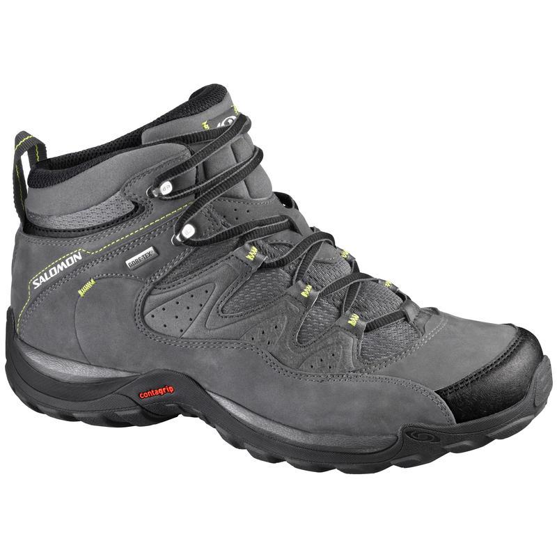 Elios Mid GTX 3 Light Trail Shoes Autobahn/S-Green