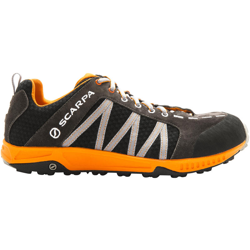 Rapid Light Trail Shoes Anthracite/Orange