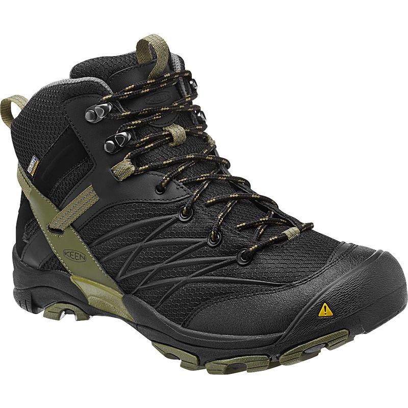 Marshall Mid WP Light Trail Shoes Black/Burnt Olive
