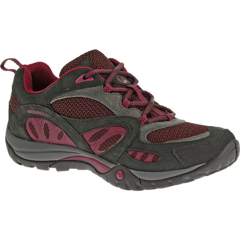 Azura Light Trail Shoes Granite/Wine
