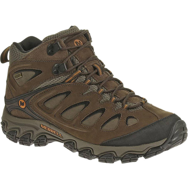Pulsate Mid Waterproof Light Trail Shoes Black/Bracken