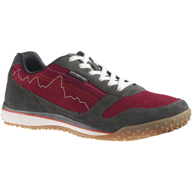 Fitz Sneak Light Trail Shoes Waxed Red