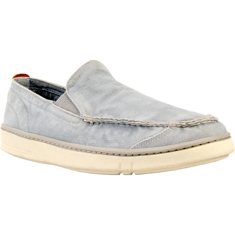 Earthkeepers Hookset Slip On Light Grey Washed Canvas
