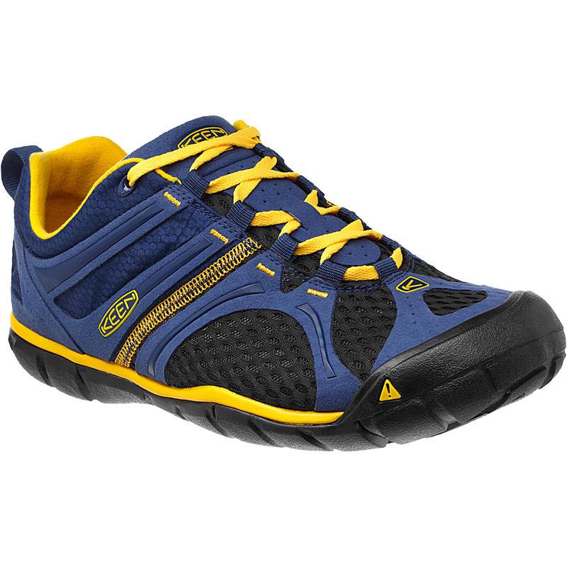 Chaussures de randonnée légère Madison Low CNX Domaine bleu/Jaune