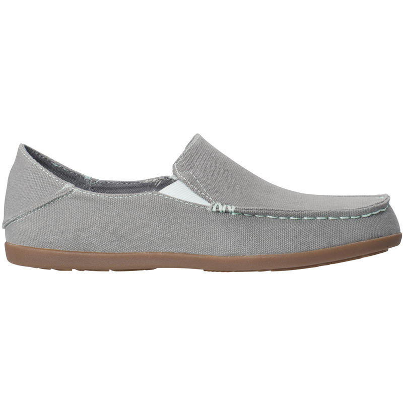 Nohea Canvas Shoes Charcoal/Pale Mint