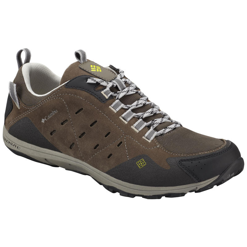 Conspiracy Razor Leather Light Trail Shoes Mud/Chartreuse