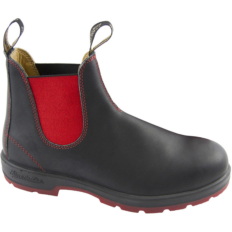 Leather Lined 1316 Boots Black/Red