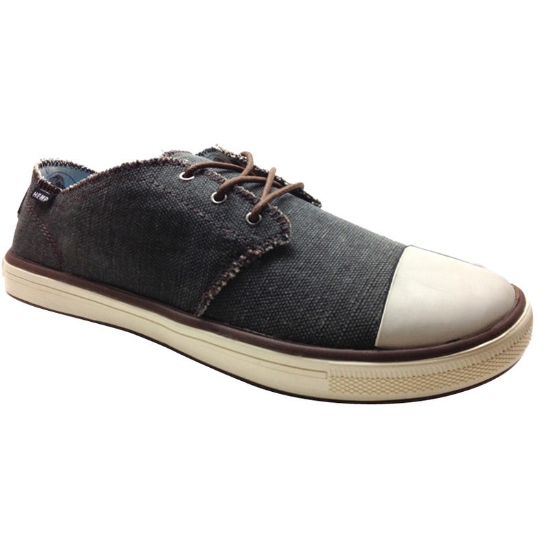 Bodega Hemp Shoes Charcoal