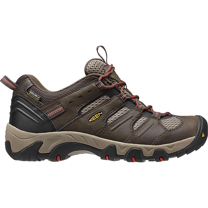 Chaussures de randonnée légère Koven WP Olive noire/Bossa Nova