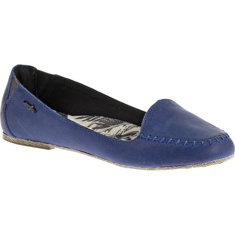Lamu Leather Shoes Blue